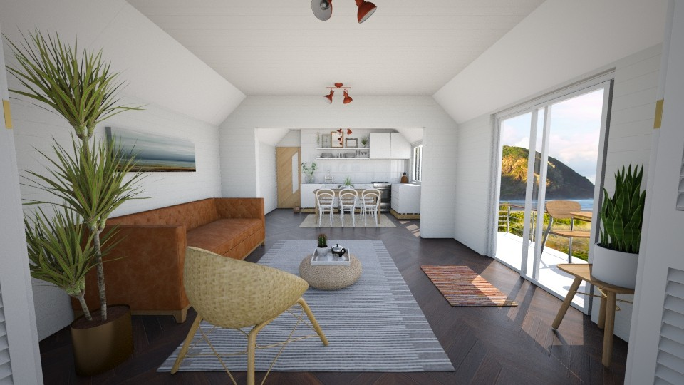 Summer in Byron Bay IV - Minimal - Living room - by madelinesworld