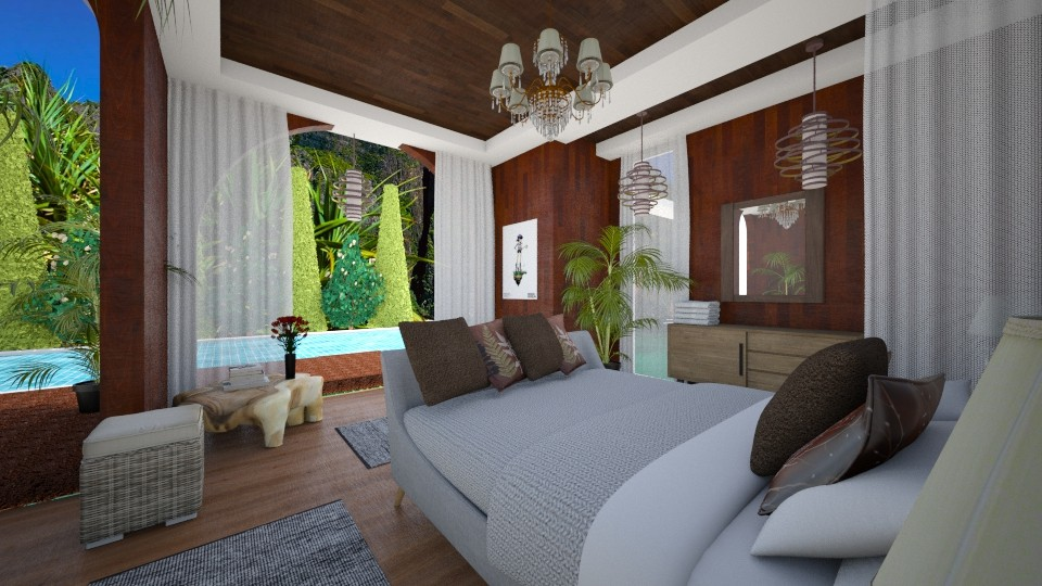 Thai resort - Bedroom  - by TanjaaS