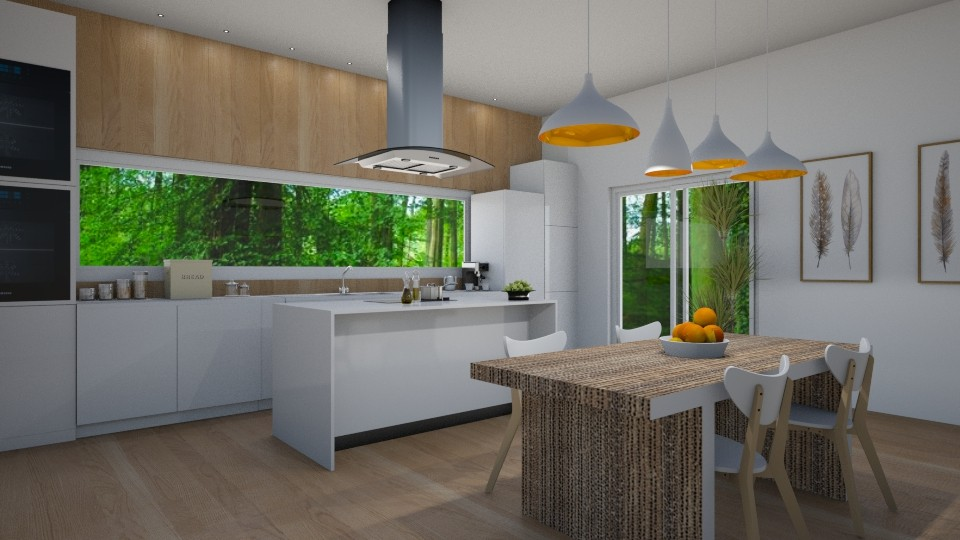Simple - Kitchen  - by Val Val