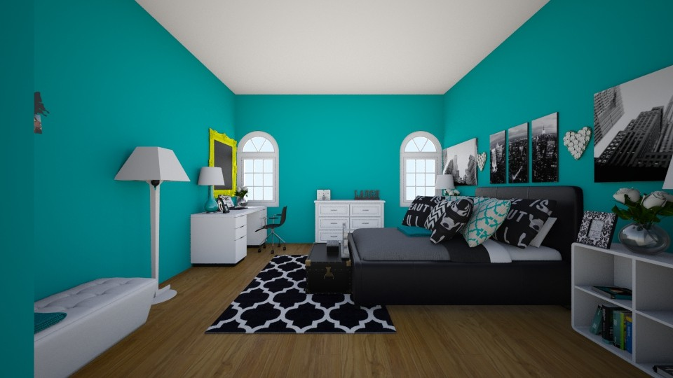 TEEN NYC STAGE - Feminine - Bedroom  - by theobrien5