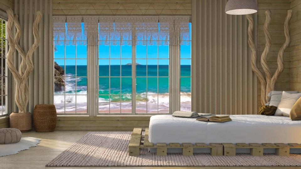Beach Bedroom - Bedroom - by CatsFurLife