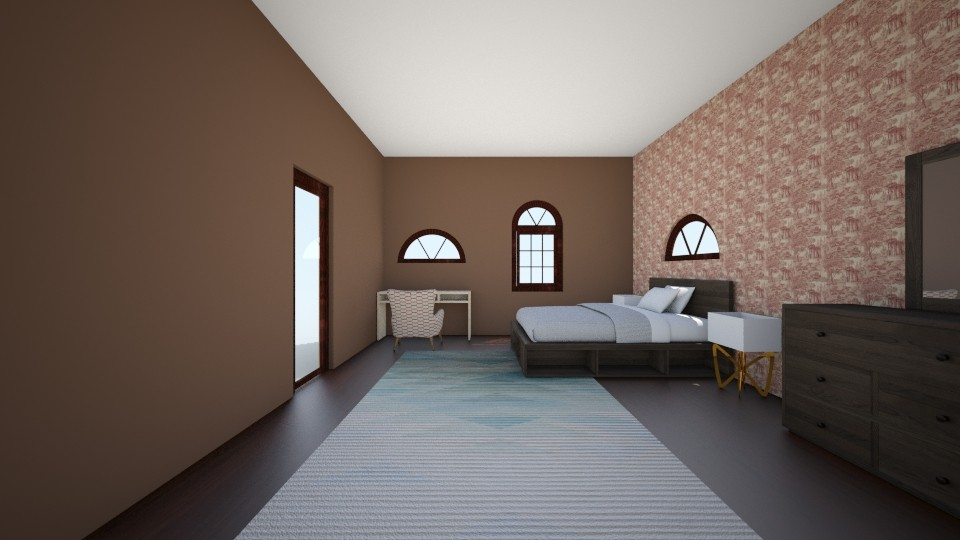 Basement Apartment Part 2 - Modern - Bedroom  - by ilovepie