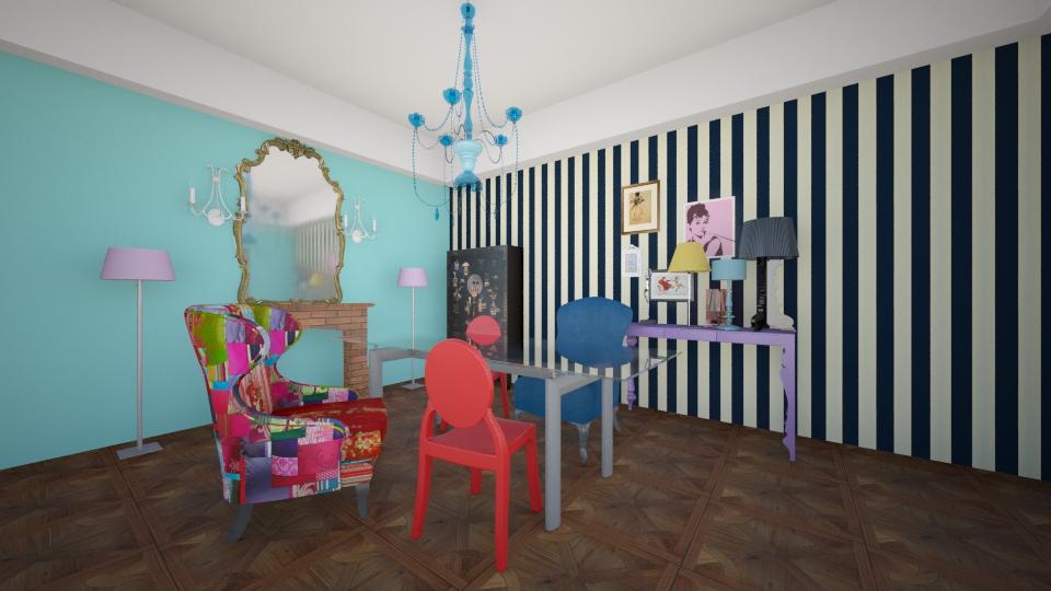 Tiffany right - Eclectic - Living room - by Masha Melnik