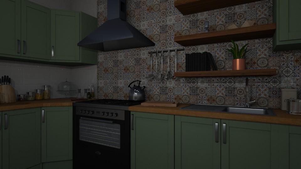 home kitchen - by nazlazzhra
