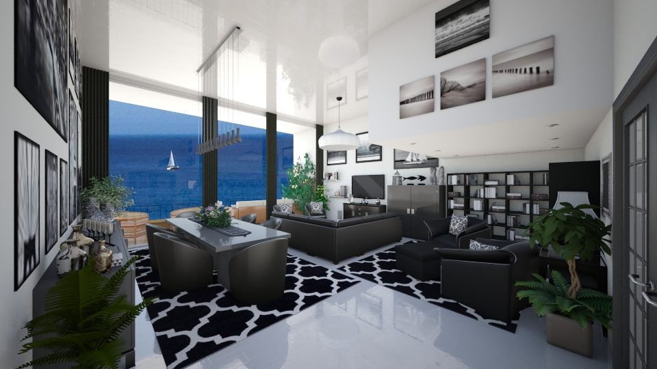 Sea Front Apt 2 - Modern - Living room - by Joao M Palla