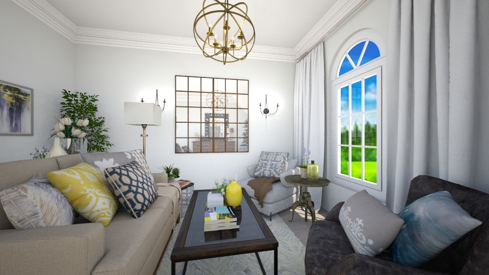 living room - Living room - by Anastasia Grishka
