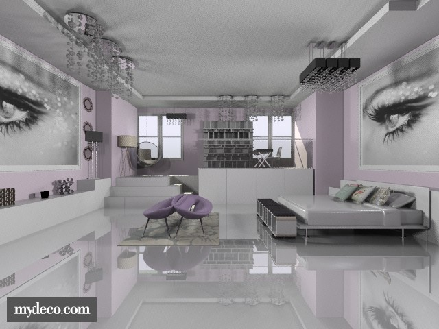Glamour Girl Room - Glamour - Bedroom - by BriaFaith
