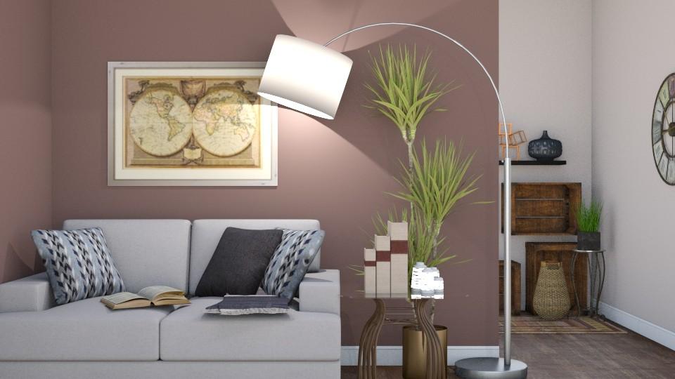 Reading Nook - Living room - by ElieK