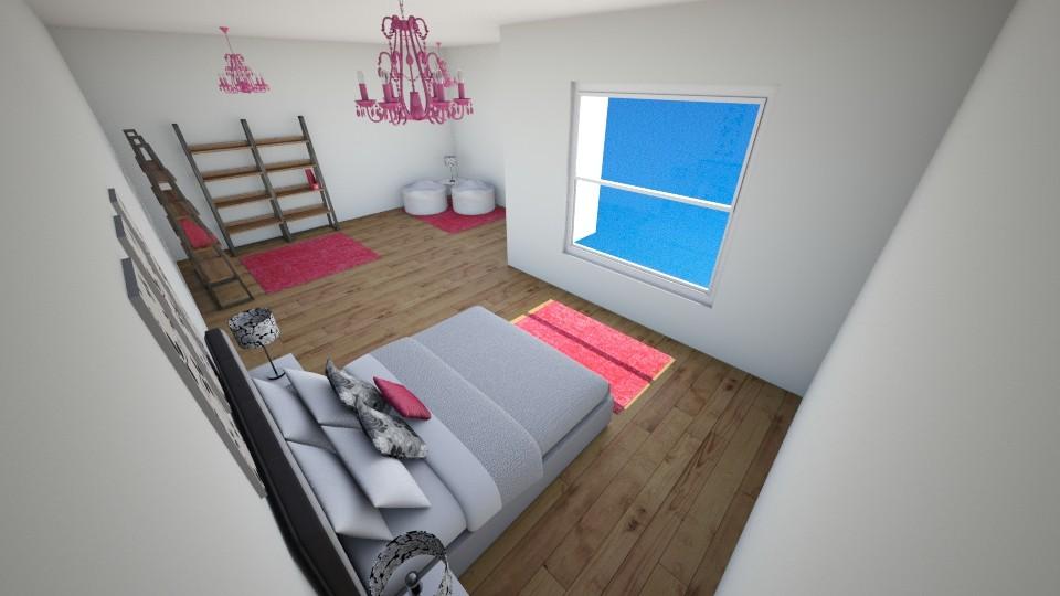 Rose room - Bedroom  - by jmeyer2x4