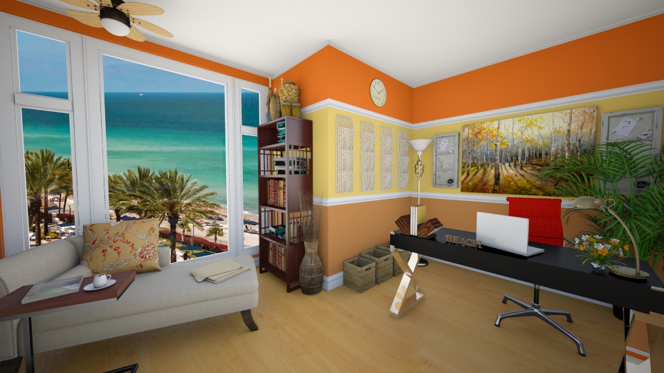 Beach Home Office - Eclectic - Office - by LadyVegas08
