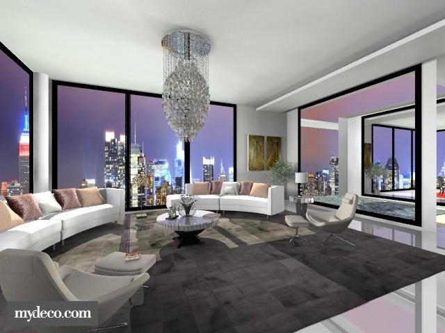 Infinity Pool III - Living room - by _Taz_