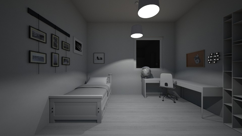 Bedroom - Modern - Bedroom - by nadja976