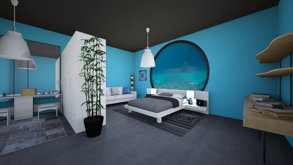 under ocean - Modern - Bedroom - by secret_girl91