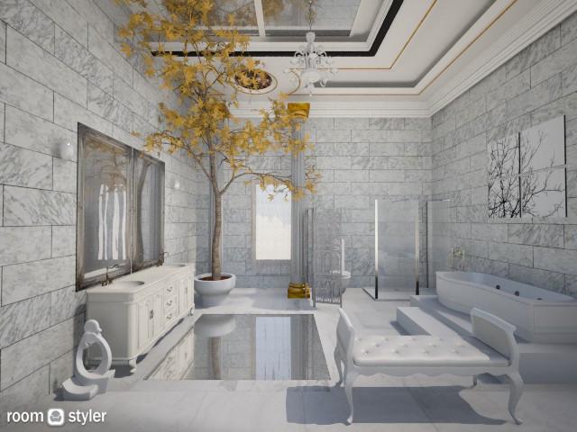 luxurius bathroom 2 - by Themis Aline Calcavecchia