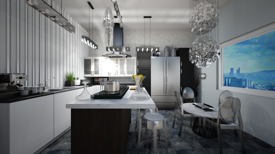 Contemporary Kitchen - by victoriasell