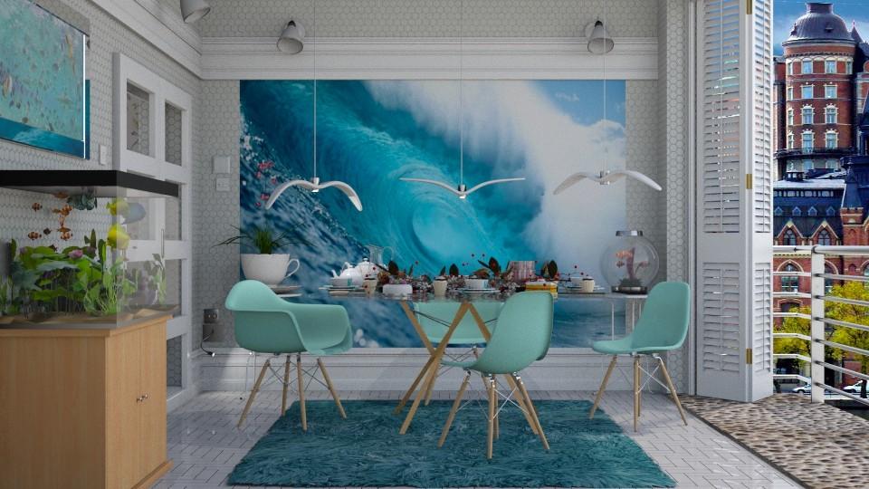 Sea nostalgia - Modern - Dining room - by Ida Dzanovic