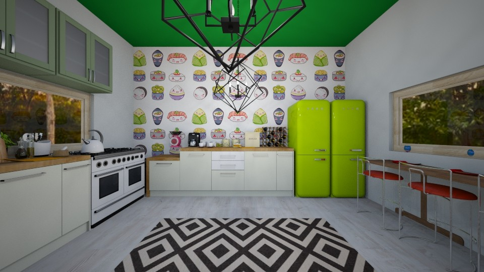 Fun and Cooking - Kitchen - by Nikki Lipstick