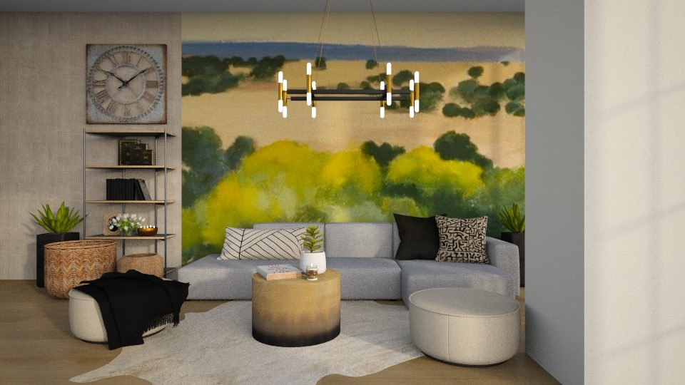 OKeffe inspired Living - Living room  - by MiaM