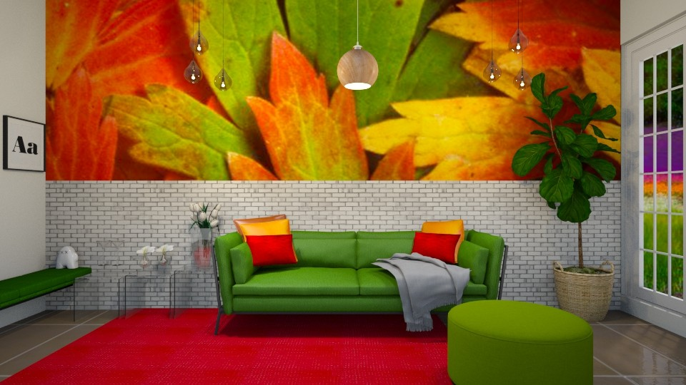 Autumn leaves  - Modern - Living room - by haya okdeh