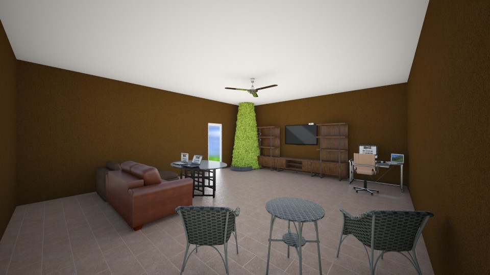 jeds first omega room - Living room - by ravalonna
