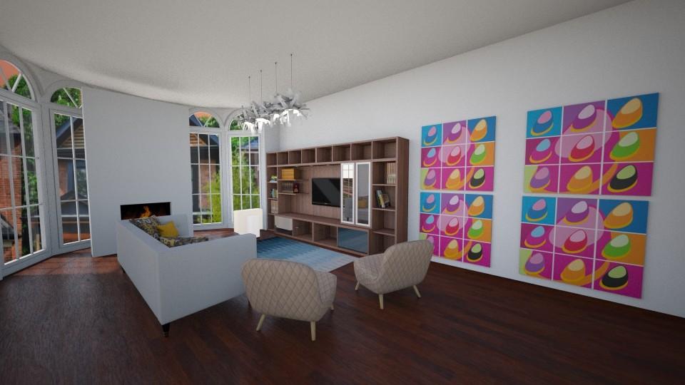 Living room - Living room  - by katarinalaaksonen