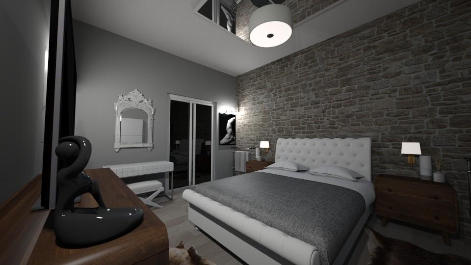 My Bedroom 4 - Vintage - Bedroom - by kostis kkkk