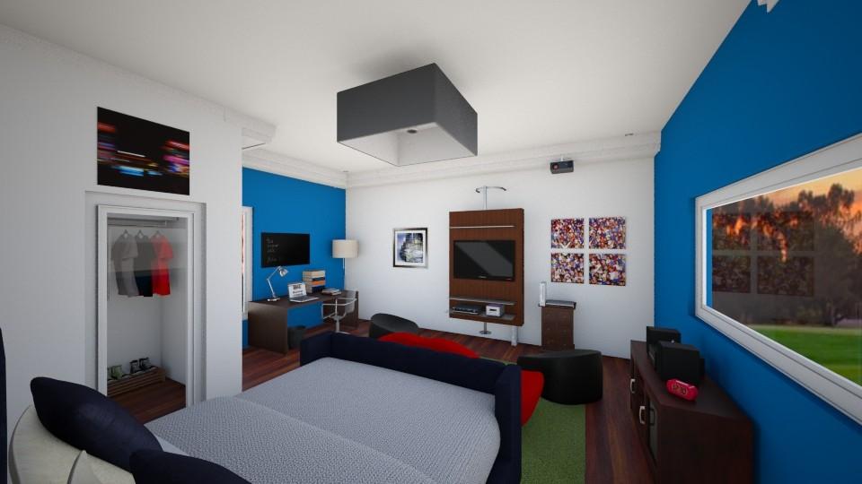 Teen Room  - Bedroom - by Sophia Urcuyo