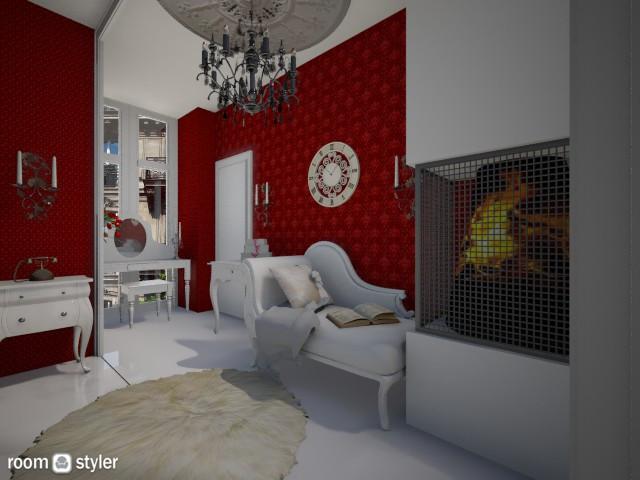 Paris tiny room2 - Living room - by DanielaIoanaEnescu