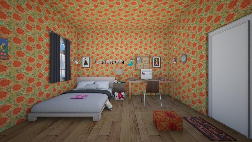 Fandom Dollhouse - Country - Bedroom - by Ava Shirley