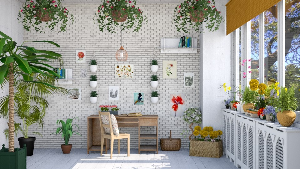 botanical study - Office - by laughterlines