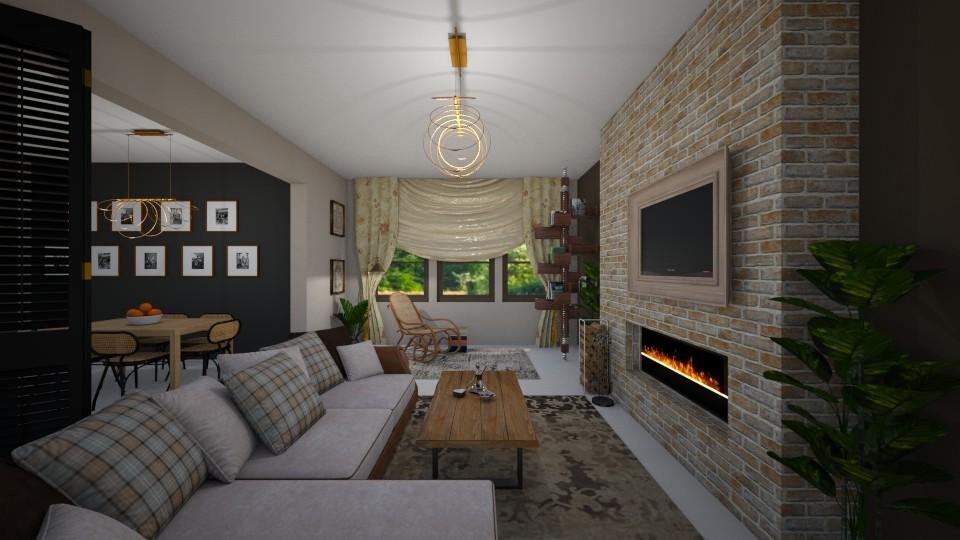 Thonet - Living room - by norcska