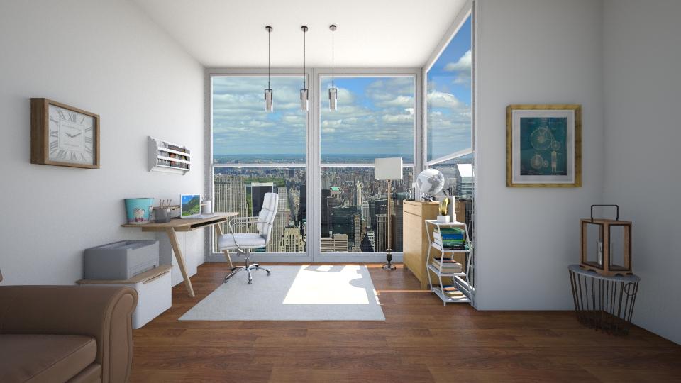 Modern office  - Modern - Office - by GoliaNova