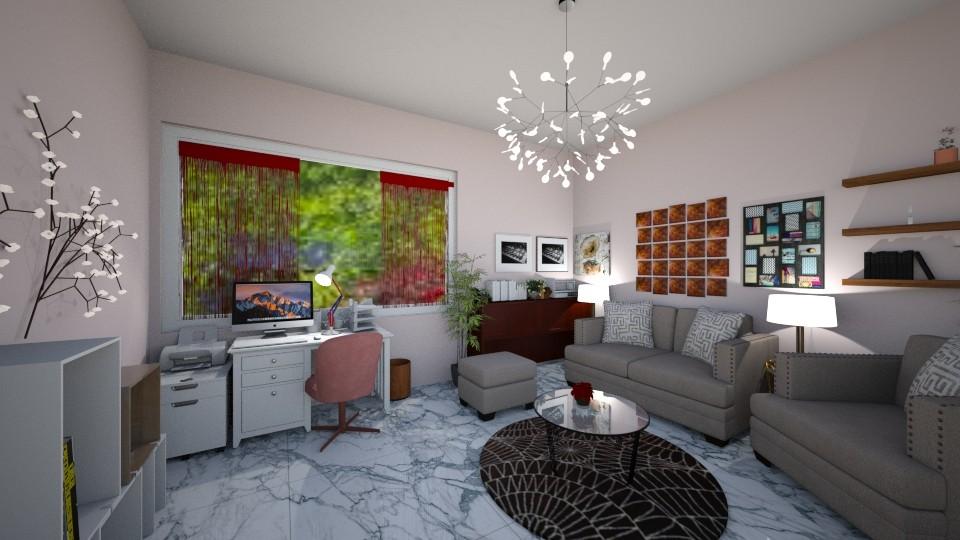 My little office - Office - by Caye