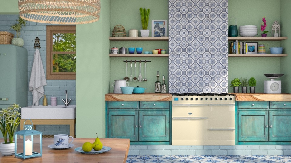 Boho Kitchen - Kitchen - by LB1981