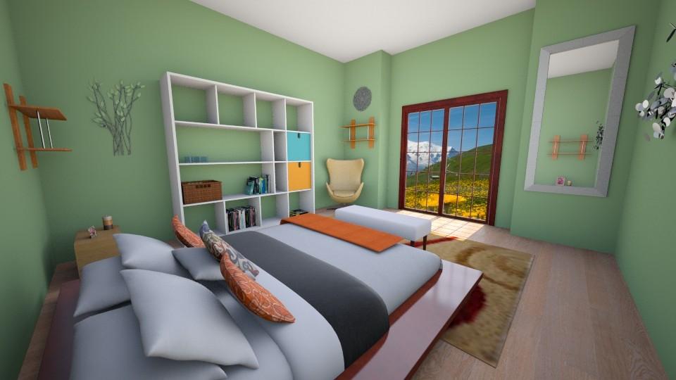 Bedroom Escape - Bedroom - by Shyista