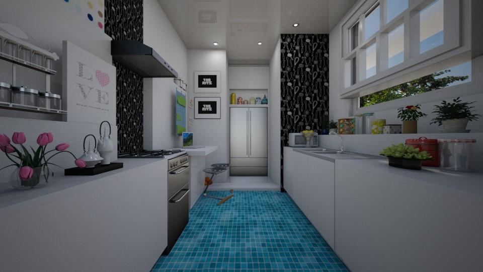 Cozinha  - by Sanare Sousa