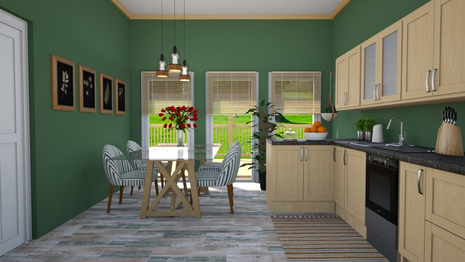 Forest inspiration - Kitchen - by agapka