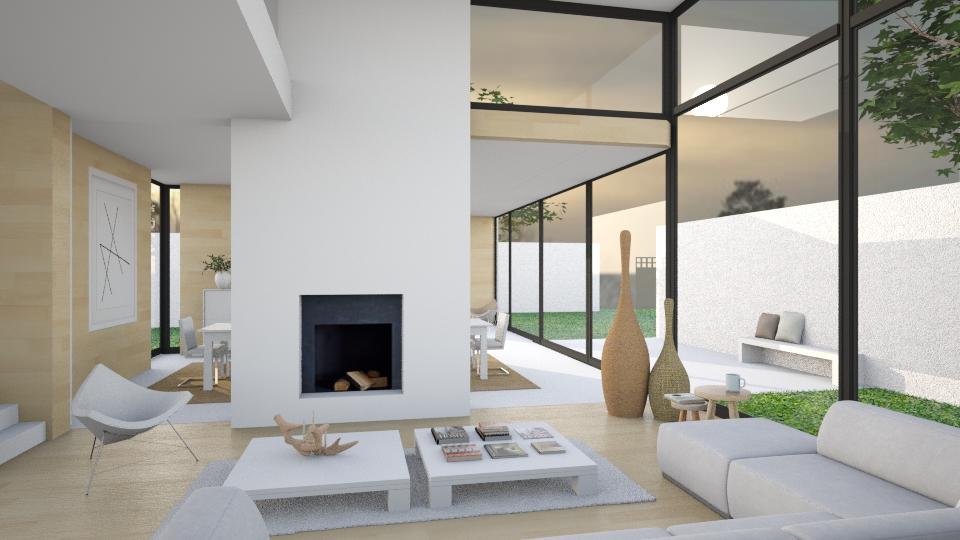 Summer - Living room - by KRdesign