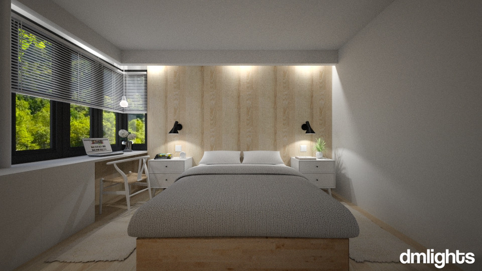 Asia Contemporanea - Bedroom - by DMLights-user-996069