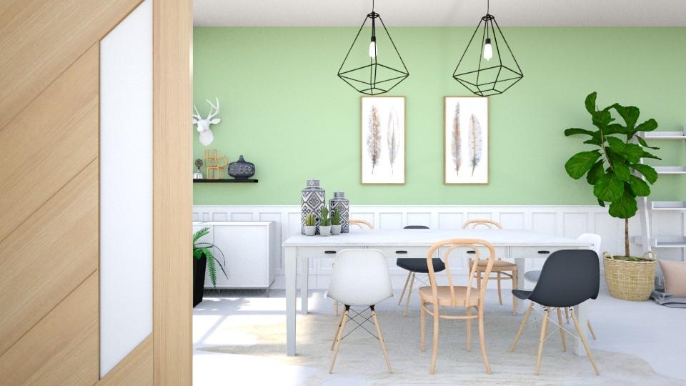 hi - Dining room - by eliseatlife