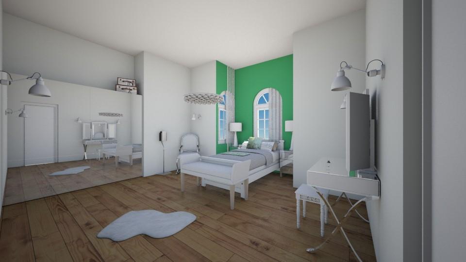 Paradise bedroom - Bedroom - by aila auk