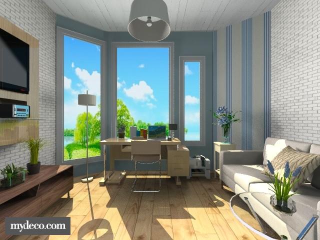 Feeling Blue Study Room - Global - by Siti Idrus