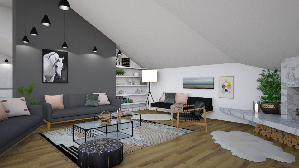 A1 - Modern - Living room - by evahassing