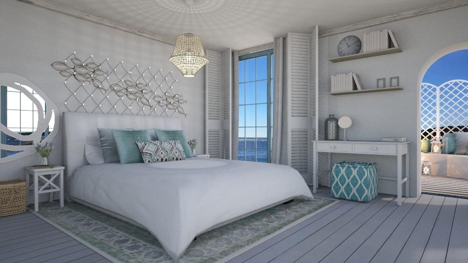 Coastal bedroom - by Heddau