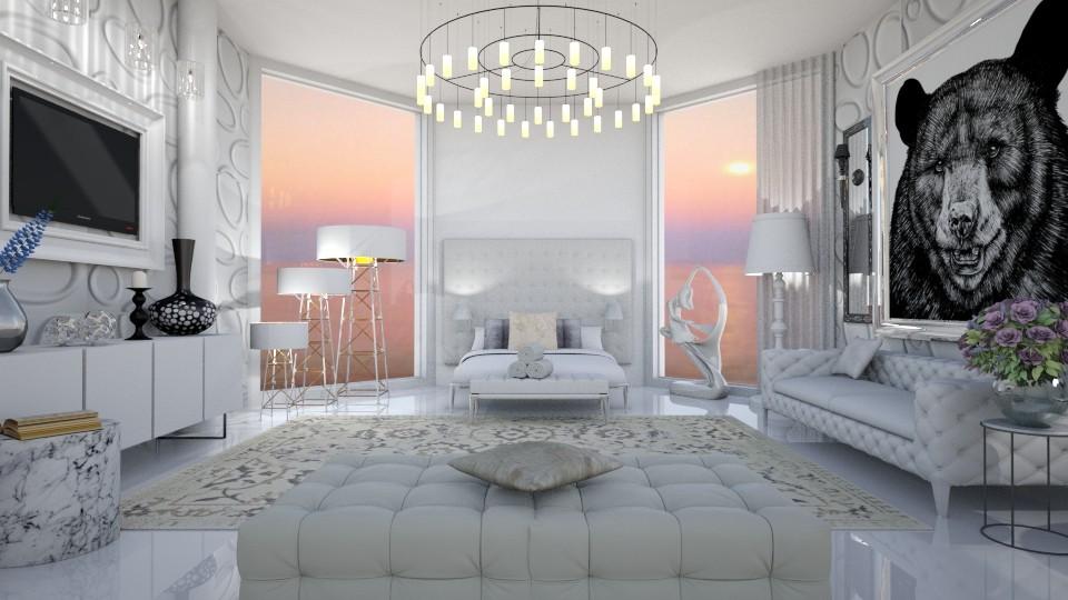 milan - Minimal - Bedroom - by mari mar