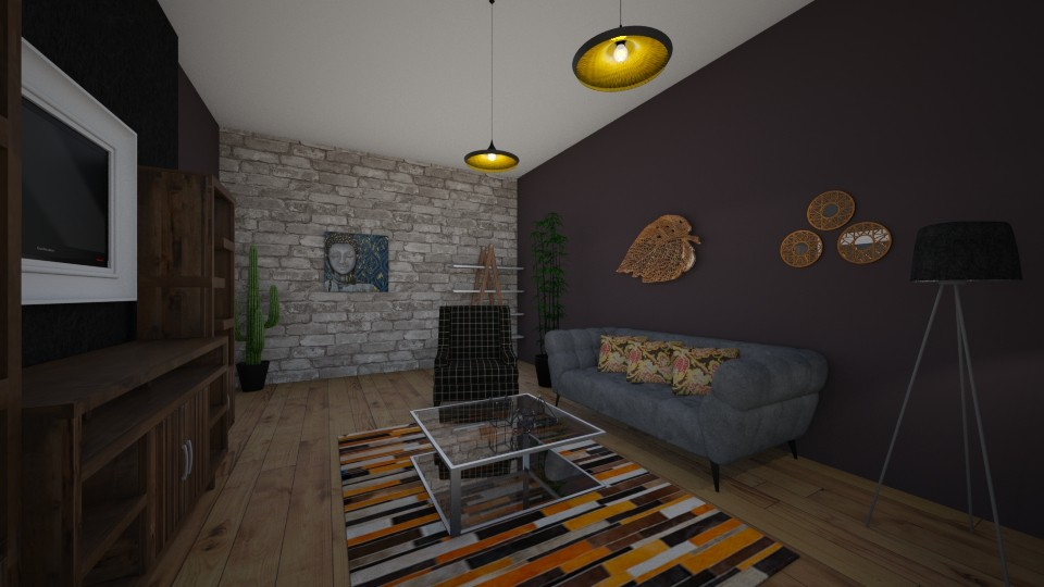 first4 - Living room - by Axi Alexandra