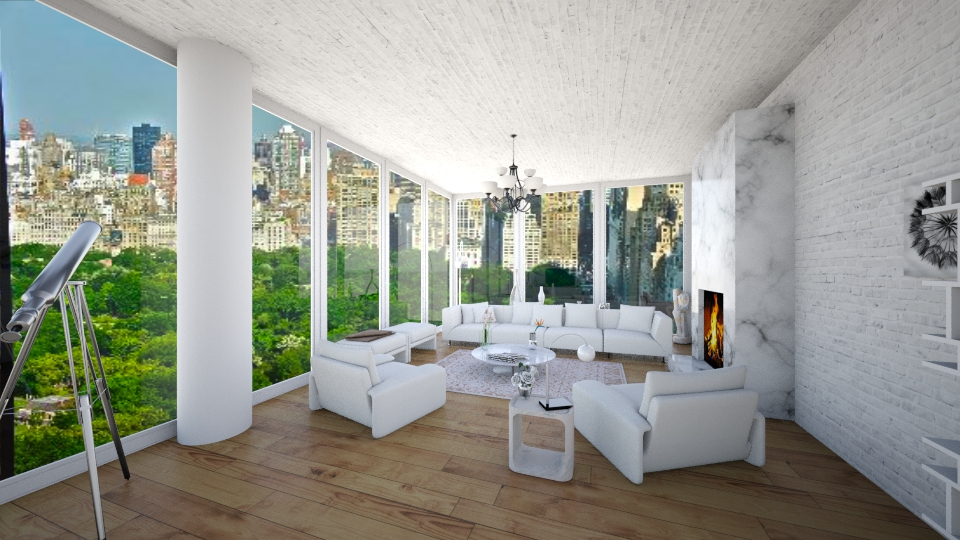 by central park - Living room - by diana villa