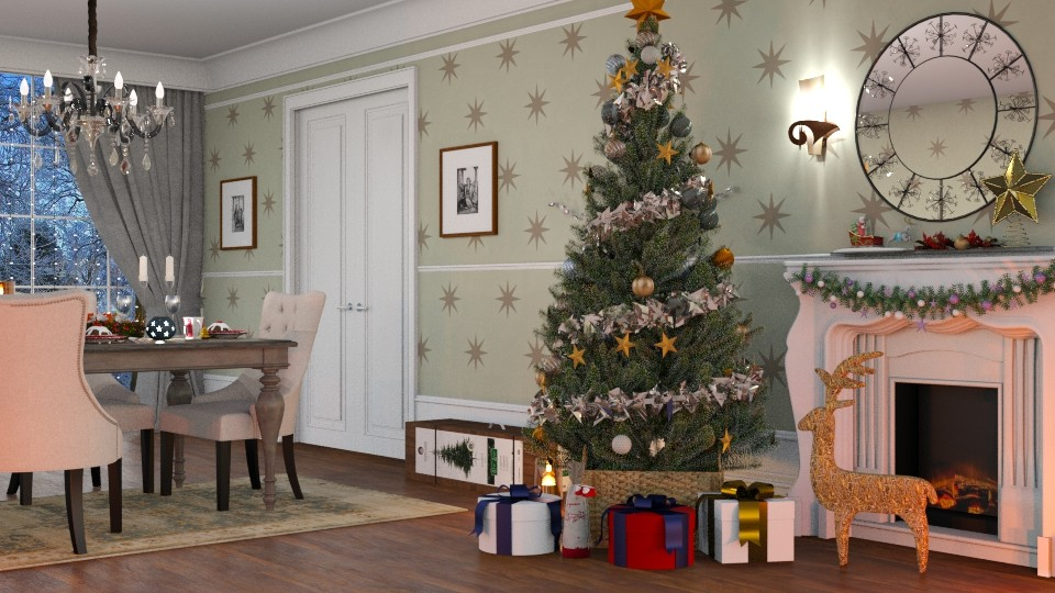 Mary Christmas - Classic - Living room  - by Valkhan