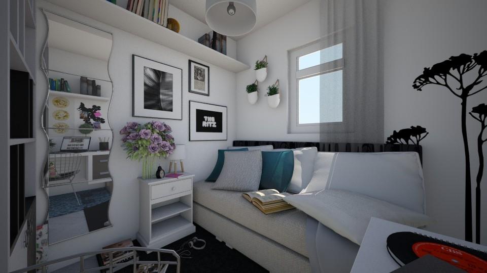 Bedroom - Bedroom - by Paola Perdomo