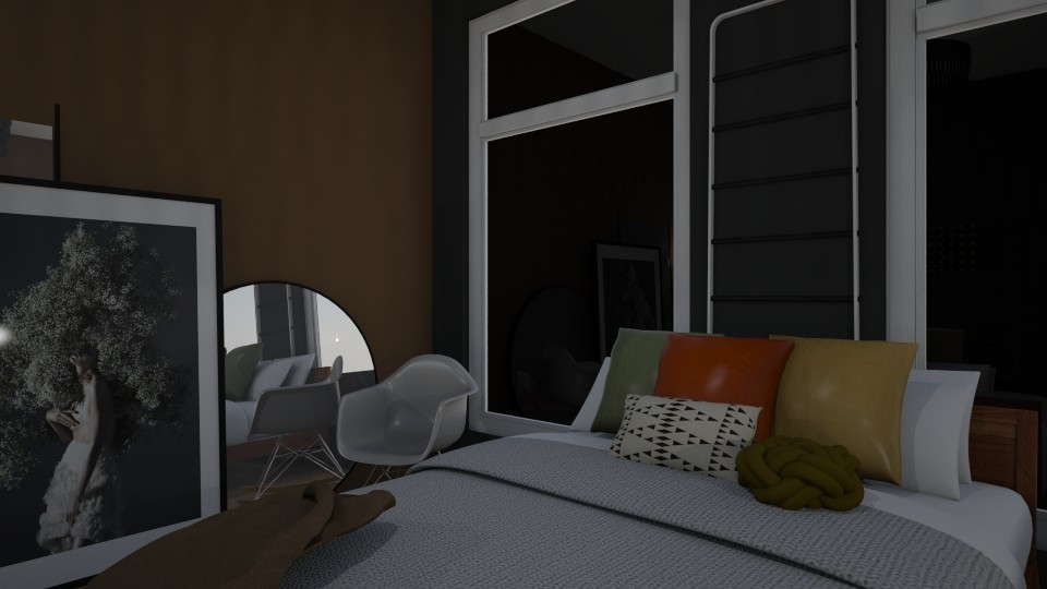Studio Apartment - Modern - Bedroom - by nazlazzhra